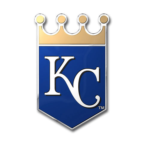 Kansas City Royals Die Cut Color Auto Emblem