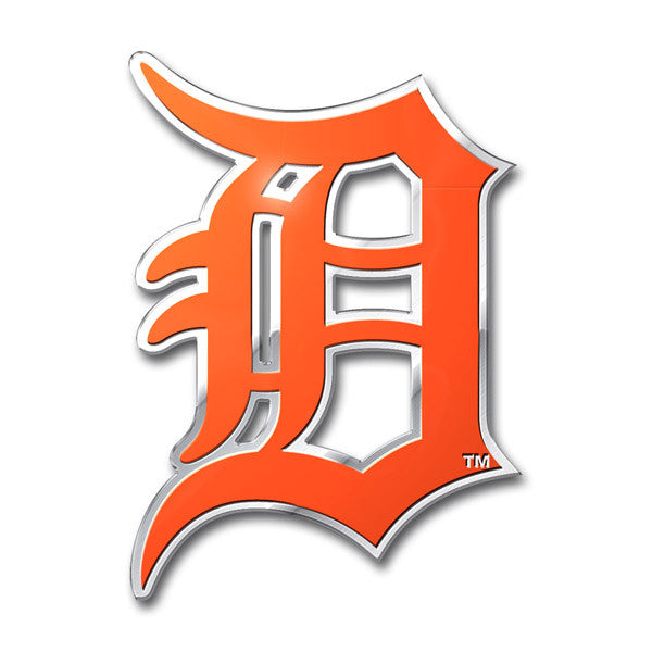 Detroit Tigers Die Cut Color Auto Emblem