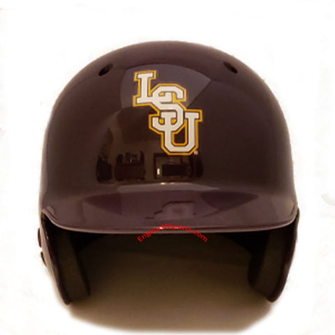 LSU Tigers Schutt Mini Batting Helmet
