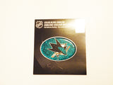 San Jose Sharks Bling Oval Auto Emblem