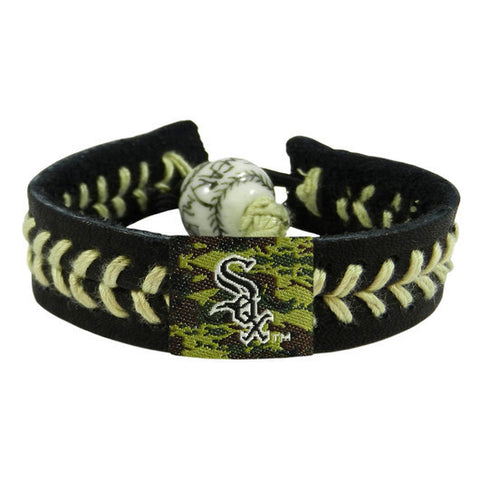 Chicago White Sox Camouflage Bracelet