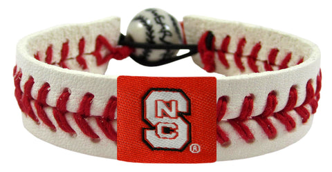 North Carolina State Wolfpack Baseball Bracelet