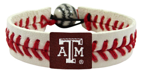 Texas A&M Aggies Baseball Bracelet