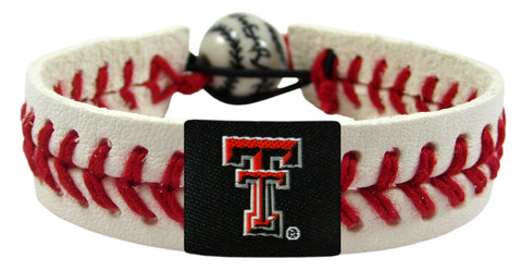 Texas Tech Red Raiders Baseball Bracelet