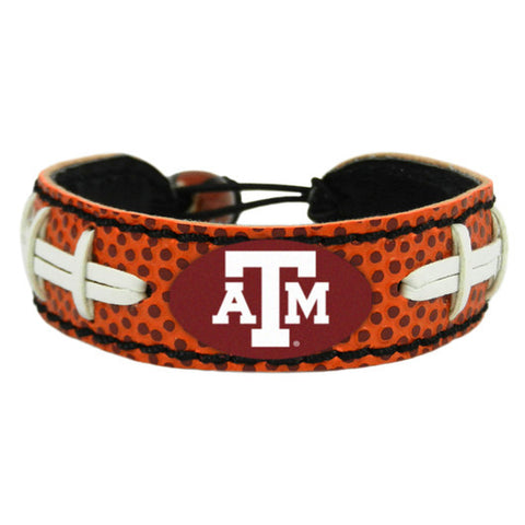 Texas A&M Aggies Football Bracelet