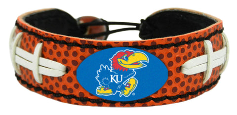Kansas Jayhawks Football Bracelet