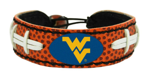 West Virginia Mountaineers Football Bracelet