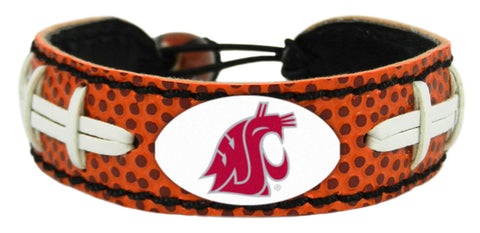Washington State Cougars Football Bracelet