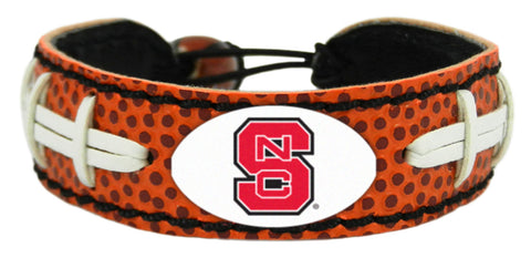 North Carolina State Wolfpack Football Bracelet