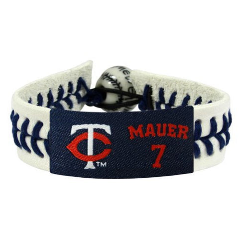 Minnesota Twins Joe Mauer Genuine Bracelet