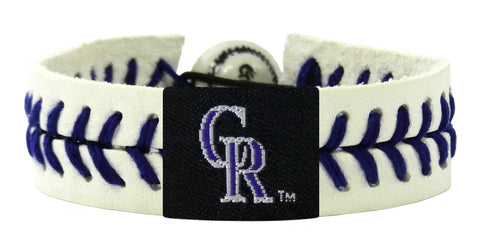 Colorado Rockies Genuine Bracelet