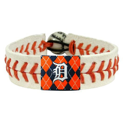 Detroit Tigers Genuine Argyle Bracelet