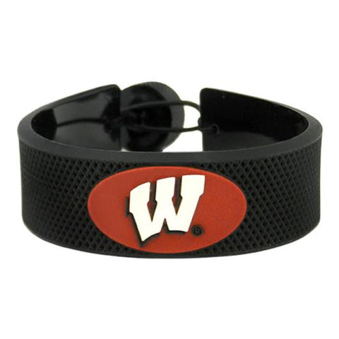 Wisconsin Badgers Hockey Bracelet