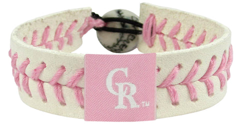 Colorado Rockies Pink Bracelet
