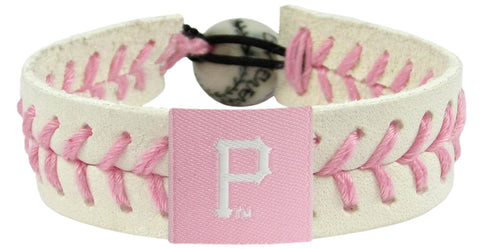 Pittsburgh Pirates Pink Bracelet