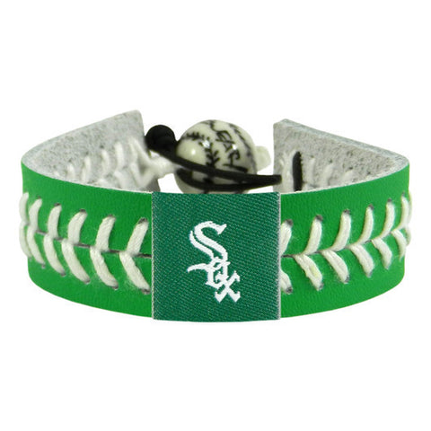 Chicago White Sox St. Patrick's Day Bracelet