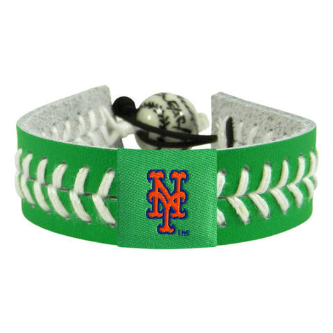 New York Mets St. Patrick's Day Bracelet