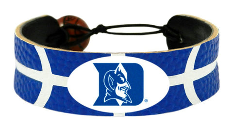 Duke Blue Devils Team Color Basketball Bracelet