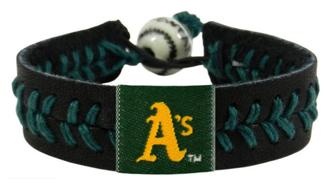Oakland A's Team Color Bracelet - Black