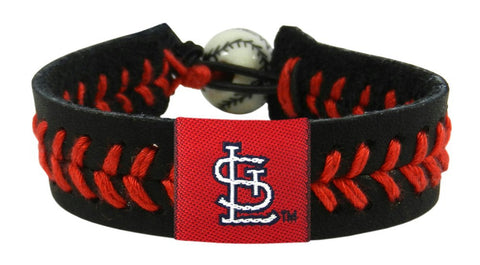 St. Louis Cardinals Team Color Bracelet - Black