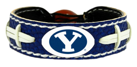 BYU Cougars Team Color Football Bracelet