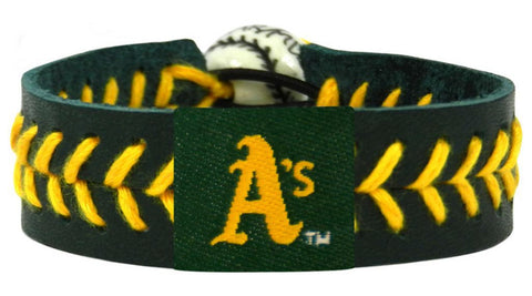 Oakland A's Team Color Bracelet - Green