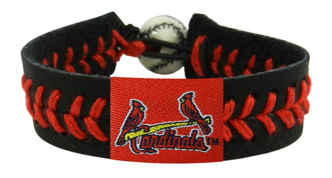 St. Louis Cardinals Team Color Bracelet - Jersey Logo