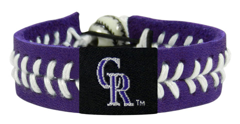 Colorado Rockies Team Color Bracelet - Lavender