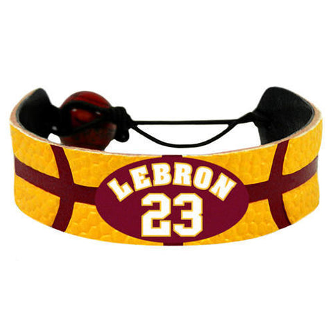 Cleveland Cavaliers Team Color LeBron James Bracelet