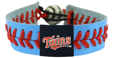 Minnesota Twins Team Color Bracelet - Powder Blue