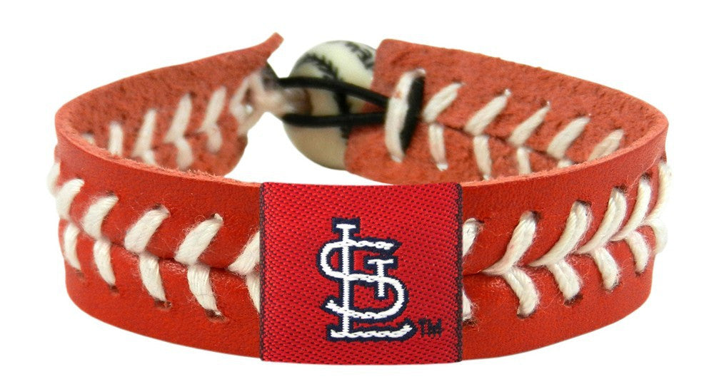 St. Louis Cardinals Team Color Bracelet - Red