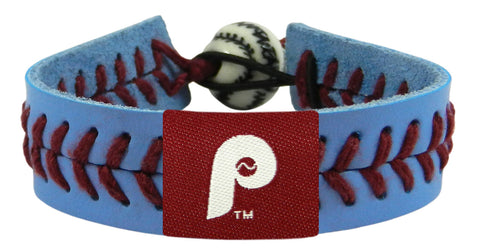 Philadelphia Phillies Team Color Retro Logo Bracelet