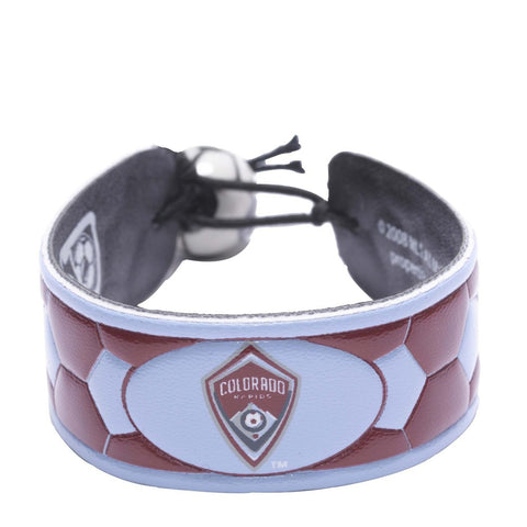 Colorado Rapids Team Color Bracelet