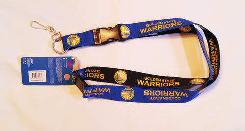 "Golden State Warriors 24"" Two Tone Breakaway Lanyard"