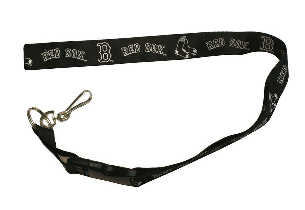 "Boston Red Sox 24"" Breakaway Lanyard - Blackout"