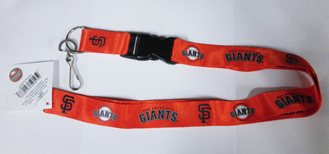 "San Francisco Giants 24"" Breakaway Lanyard - Orange"