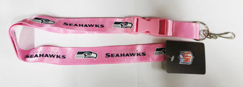 "Seattle Seahawks 24"" Breakaway Lanyard - Pink"