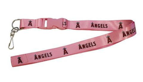 "Los Angeles Angels 24"" Breakaway Lanyard - Pink"