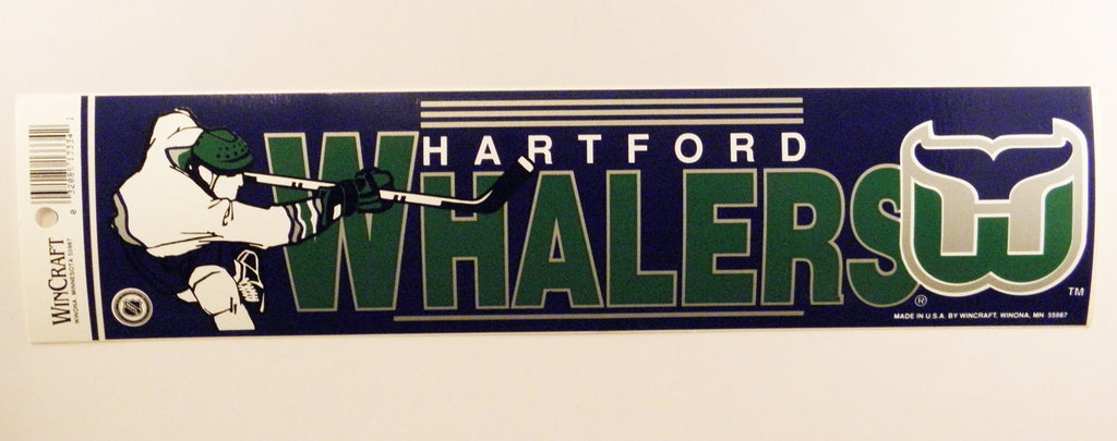 Hartford Whalers Bumper Sticker