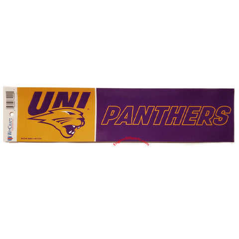 Northern Iowa Panthers Bumper Sticker