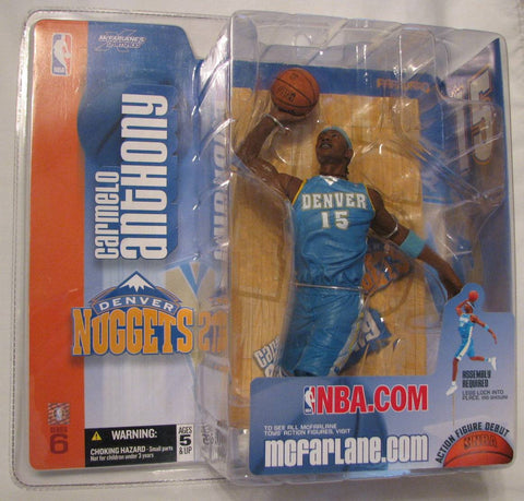 Carmelo Anthony Denver Nuggets McFarlane NBA Series 6