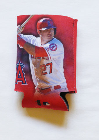Mike Trout Los Angeles Angels Can Holder