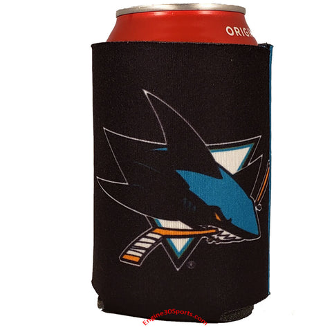San Jose Sharks 2 Sided Can Holder