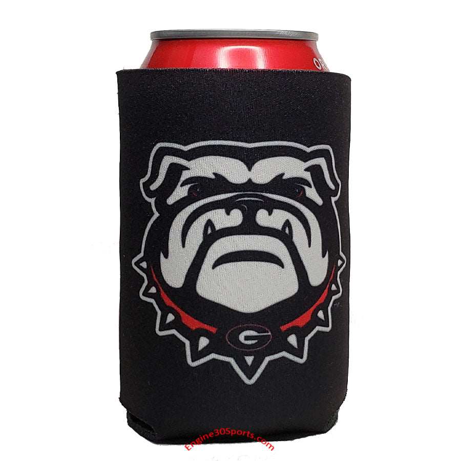 Georgia Bulldogs 2 Sided Can Holder