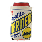 Seattle Mariners Vintage Design 2 Sided Can Holder