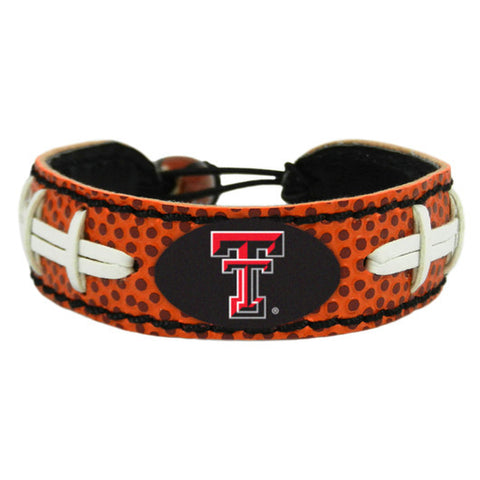 Texas Tech Red Raiders Football Bracelet