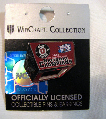 Union College Dutchmen 2014 National Champions Collector's Pin