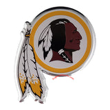 Washington Redskins Die Cut Color Auto Emblem