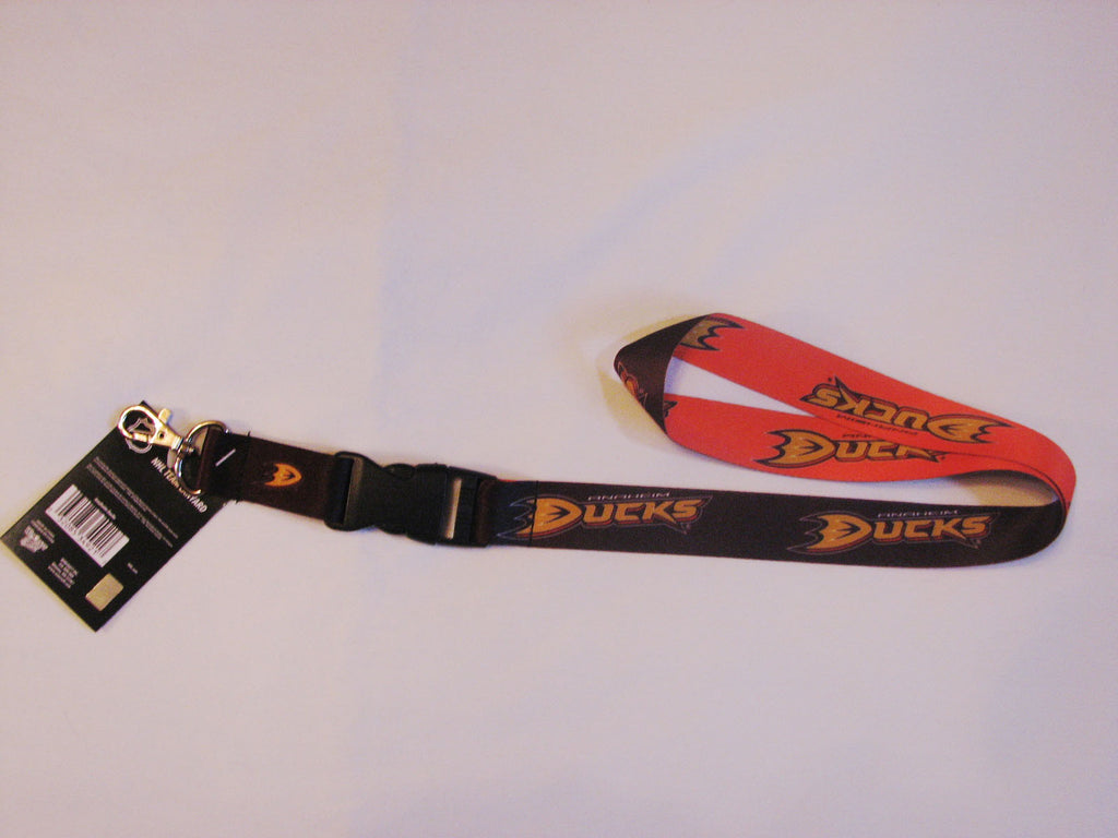 "Anaheim Ducks 22"" Lanyard with Detachable Buckle"
