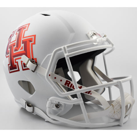 Houston Cougars Riddell Deluxe Replica Speed Helmet